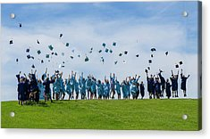 Graduation Day Acrylic Print by Alan Toepfer