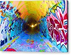 Graffiti Art 56 Acrylic Print by Cindy Nunn