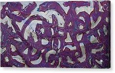 Graffiti Acrylic Print by Biagio Civale