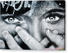 Graffiti Eyes Acrylic Print