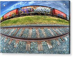 Graffiti Genius 2 Acrylic Print by Bob Christopher