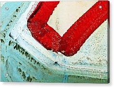 Graffiti Texture IIi Acrylic Print by Ray Laskowitz - Printscapes