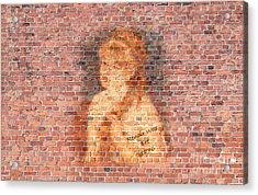 Graffiti Wall Painting Renoir Woz Ere 1876  Acrylic Print by Pod Artist