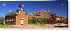 Grafton Ghost Town - Color Acrylic Print by William Gillam