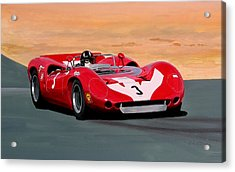 Graham Hill Acrylic Print