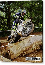 Graham Jarvis At 2017 Kenda Tennessee Knockout Enduro Acrylic Print