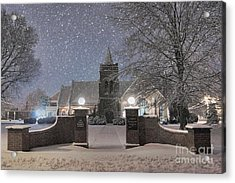 Graham Presbyterian Church Acrylic Print