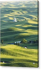 Grain Factory Acrylic Print by Jon Glaser