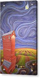 Grain Tower IIi Acrylic Print by Scott Kirby