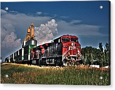Grain Train Acrylic Print