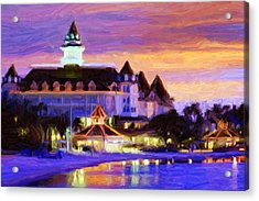 Grand Floridian Acrylic Print by Caito Junqueira