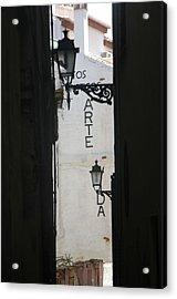 Granada 9 Acrylic Print by Jez C Self