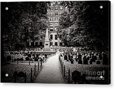 Granary Burying Ground Acrylic Print