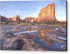Grand Arches IIi Acrylic Print by Jon Glaser