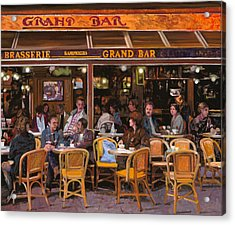 Grand Bar Acrylic Print by Guido Borelli