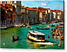 Grand Canal Daytime Acrylic Print