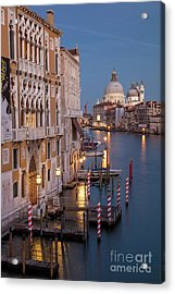 Acrylic Print featuring the photograph Grand Canal Twilight II by Brian Jannsen