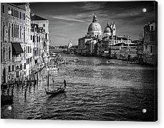 Acrylic Print featuring the photograph Grand Canal View by Andrew Soundarajan