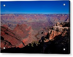 Acrylic Print featuring the photograph Grand Canyon 1 by Donna Corless