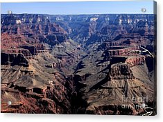 Grand Canyon 2 Acrylic Print by Erica Hanel