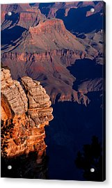 Acrylic Print featuring the photograph Grand Canyon 24 by Donna Corless