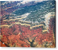 Grand Canyon 3 Acrylic Print by Addie Hocynec