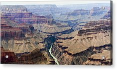 Grand Canyon And Colorado River 3 Of 5 Acrylic Print by Gregory Scott