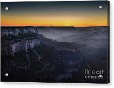 Grand Canyon At Twilight Acrylic Print by RicardMN Photography