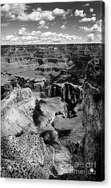 Grand Canyon Bw Acrylic Print by RicardMN Photography