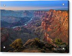 Grand Canyon Desert View Acrylic Print by Jamie Pham