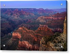 Grand Canyon Dusk Acrylic Print by Jamie Pham