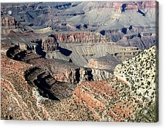 Grand Canyon Greatness Acrylic Print by Paul Cannon
