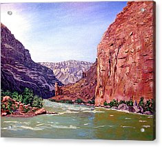 Grand Canyon I Acrylic Print by Stan Hamilton