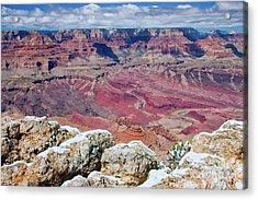 Grand Canyon In Arizona Acrylic Print by Julia Hiebaum