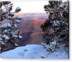 Grand Canyon In Winter Acrylic Print