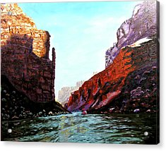 Grand Canyon Iv Acrylic Print by Stan Hamilton