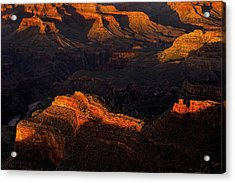 Grand Canyon Light And Shadows Acrylic Print by Andrew Soundarajan