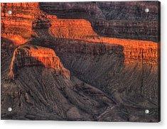 Grand Canyon Light Acrylic Print by Steve Gadomski