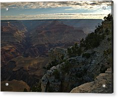 Acrylic Print featuring the photograph Grand Canyon Monring by Stephen  Vecchiotti
