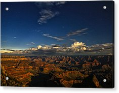 Grand Canyon Moonlight Acrylic Print