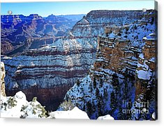 Grand Canyon National Park In Winter Acrylic Print