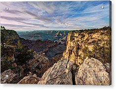 Grand Canyon National Park Spring Sunset Acrylic Print