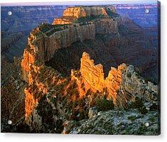 Grand Canyon North Rim Acrylic Print by Johan Elzenga