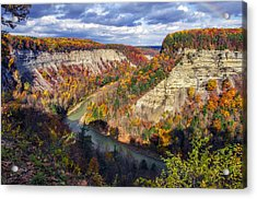 Grand Canyon Of The East Acrylic Print by Mark Papke