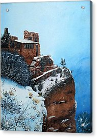 Grand Canyon Overlook Acrylic Print