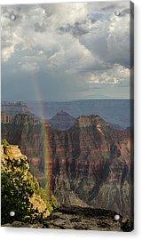 Grand Canyon Rainbow Acrylic Print