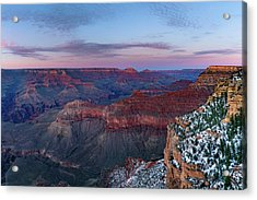 Grand Canyon - South Rim Twilight Acrylic Print
