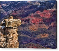 Grand Canyon Stacked Rock Acrylic Print
