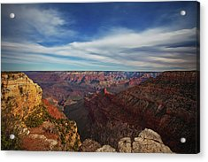 Grand Canyon Stars Acrylic Print by Darren White