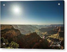 Grand Canyon Sun Acrylic Print by Jamie Pham